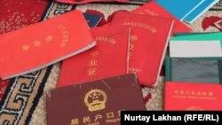 Документы граждан Китая, являющихся этническими казахами. Алматинская область, 13 ноября 2019 года.