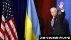 Џо Бајден за време на дводневната посета на Киев, 22.07.2009