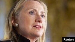 АҚШ мемлекеттік хатшысы Хиллари Клинтон.
