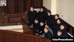 ირაკლი ოქრუაშვილი სასამართლო პროცესზე