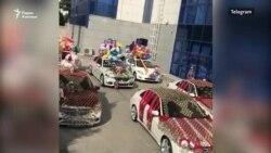 В Ашхабаде популярны торжества по выписке новорожденных