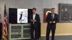 У пасольстве ЗША адкрылася выстава пра Курапаты