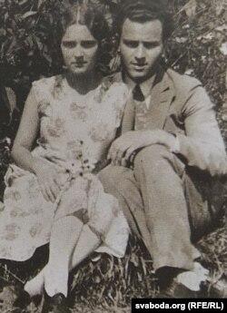 Бацькі мастачкі Алена і Георгій. 1931 г.