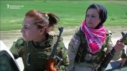 All-Female Kurdish Unit Battles IS Militants