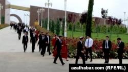 Студенты, Туркменистан (архивное фото)