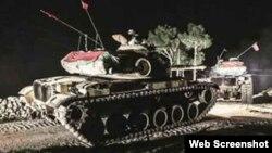 Турецкий танк в Ираке. Иллюстративное фото.