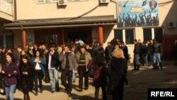 Studentë në Prishtinë