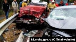 Авария на трассе «Ялта-Севастополь» 30 октября 2019 года