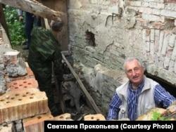 Владимир Никитин на субботнике