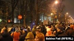 Duminică seara la București