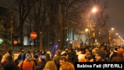 Romania - antiguvernamental protests against corruption, Bucharest