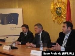 Vladimir Drobnjak u posjeti Podgorici, 24. januar 2012.