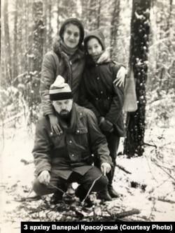 Сям'я Анатоля Красоўскага. 1996 год.