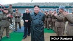 Udhëheqësi i Koresë së Veriut, Kim Jong Un.