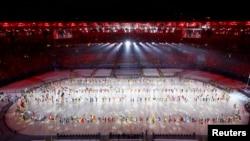 Олимпиаданын жабылышы. Маракана стадиону.