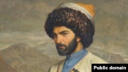 A painting of Hadji Murad, dated from 1848.