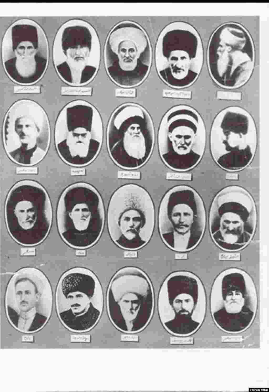 Чеченские шейхи конца 19 - начала 20 вв