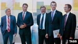 Кандидаты в мэры Москвы - Мельников, Навальный, Митрохин, Дегтярев и Левичев