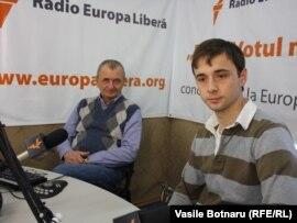 Invitații lui Vasile Botnaru în studioul Europei Libere