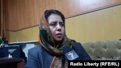 حمیرا حقمل معاون کمیسیون شکایات انتخاباتی