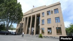 Armenia -- A court building in Yerevan, June 9, 2020.