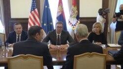 Senatori SAD sa predsednikom Srbije