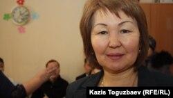 Маржан Балбаева, Алатау ауданы әкімінің орынбасары. Алматы, 14 ақпан 2013 жыл