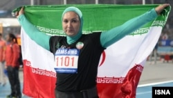 لیلا رجبی با کسب مدال نقره، اولین مدال دوومیدانی بانوان ایران در تاریخ بازیهای آسیایی را به دست آورد.