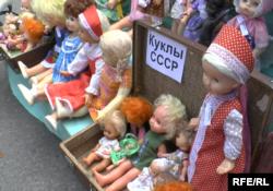 Ярмарка handmade и экспозиция советских игрушек