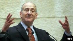 اهود اولمرت، نخست وزير اسرائيل. (عکس: EPA)