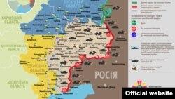 Ситуація в зоні бойових дій на Донбасі, 4 вересня 2015 року
