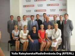 Кандидати «Батьківщини», вибори 2012 року