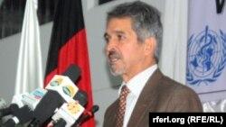 احمد جان نعیم معین پالیسی وزارت صحت عامۀ افغانستان