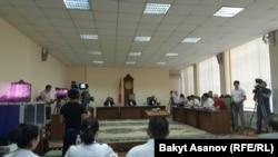 Суд у Бішкеку у справі Азімжана Аскарова