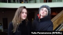 Виктория Доронина и Виктория Рупшас