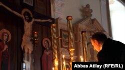 Pravoslavları Milad Bayramını qeyd edir