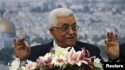 Палестинскиот претседател Махмуд Абас