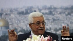 Udhëheqësi palestinez, Mahmud Abbas.