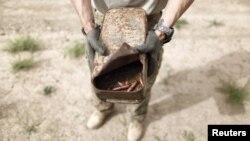 Jedna od eksplozivnih naprava pronađenih u Afganistanu - ilustracija