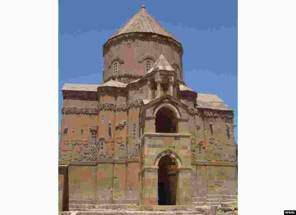The church is one of the finest surviving monuments of ancient Armenian culture in eastern Turkey.