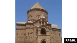 Turkey -- A 10th-century Armenian church on the island of Akhtamar in Van province.