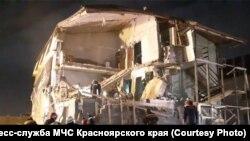 Разбор завалов. Красноярск. Февраль 2019 г.