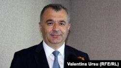 Premierul Ion Chicu (foto arhivă).