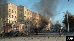 Groznîi, Cecenia, 27 noiembrie 1994.