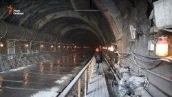 У Бескидському тунелі завершують перший етап будівництва (відео)