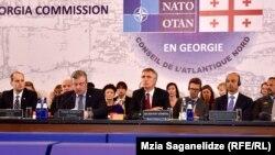 Открывая встречу, глава грузинского правительства в очередной раз выразил надежду на то, что Грузия обязательно станет членом альянса