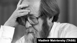 Пісьменьнік Аляксандар Салжаніцын, архіўнае фота