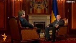 Турчинов: Русия дар ҳоли ҷанг бо Украина қарор дорад
