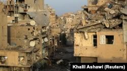 Pamje të rajonit në lindje të Sirise, Deir al-Zor