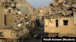 Сирия, город Дейр-эз-Зор, архивное фото